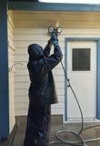 洗涤家的人力 免版税图库摄影