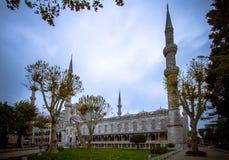 洗涤的地方在蓝色清真寺伊斯坦布尔 库存图片