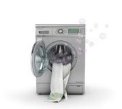 洗涤的概念 库存例证