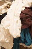 洗涤的肮脏的衣物 免版税图库摄影