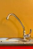 洗涤的水槽 库存图片