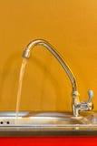 洗涤的水槽 免版税库存照片