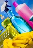 洗涤,清洗的材料,五颜六色的概念 免版税库存照片