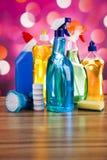 洗涤,清洗的材料,五颜六色的概念 免版税库存图片