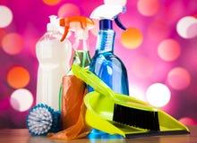 洗涤,清洗的材料,五颜六色的概念 库存图片