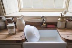 洗涤水槽 免版税库存图片