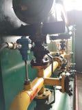 润滑油泵浦致冷机 库存照片