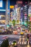 涩谷横穿Topview视图在涩谷东京 免版税库存图片