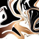 液体大理石纹理设计,五颜六色的使有大理石花纹的表面 向量例证