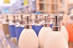 液体皂分配器 库存图片