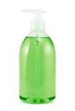 液体皂被隔绝的塑料瓶 免版税库存图片