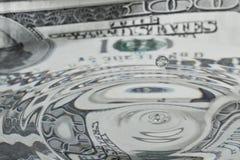 液体美元 免版税库存照片
