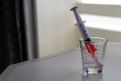 液体药物 库存图片