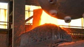 液体金属在熔铸的过程中 股票视频