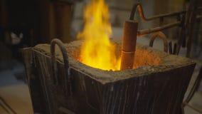 液体金属,熔化的金属,熔融金属 影视素材