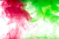 液体颜色 库存照片