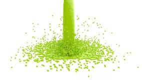 液体绿色 皇族释放例证