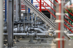液化油气管子 图库摄影