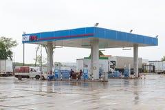 液化石油气(LPG)地方泵站 免版税库存照片