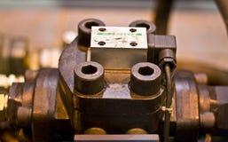 液压机构组分 库存图片