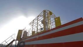 钻液循环系统的设施 股票录像