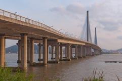 淇澳大桥 免版税库存照片