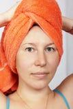 淋浴妇女 库存图片