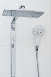 淋浴喷头 免版税库存图片