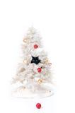 淘气圣诞节猫 免版税库存图片