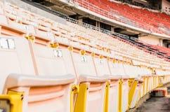 淡桔色的位子 免版税库存照片
