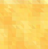 淡桔色的多角形例证,包括三角 您的业务设计的三角样式 免版税图库摄影