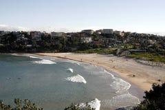 淡水的海滩 免版税库存照片