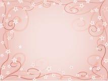 淡粉红的背景 皇族释放例证