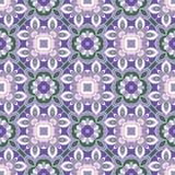 淡紫色和绿色样式 库存图片