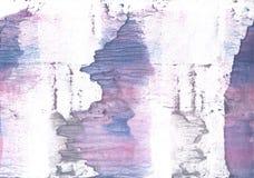 淡紫色紫色暧昧水彩样式 库存照片
