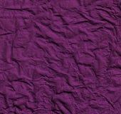 淡紫色纸张起皱了 免版税图库摄影