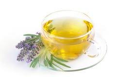 淡紫色茶 库存图片