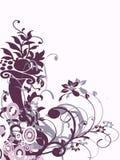 淡紫色装饰品 图库摄影