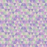 淡色三角无缝的样式 皇族释放例证