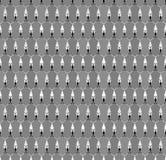淡色几何六角形无缝的样式 图库摄影