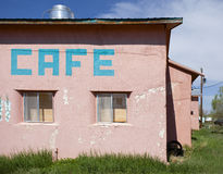 淡色咖啡馆 免版税库存照片