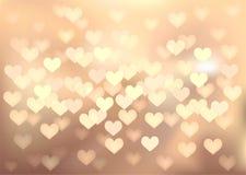 淡色欢乐光在心脏塑造,导航 皇族释放例证