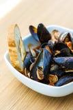 淡菜和蛤蜊开胃菜  图库摄影