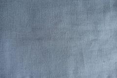 淡蓝的亚麻制织品表面 库存照片
