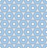 淡蓝的雪花 免版税图库摄影