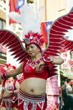 淡水厅,台湾,狂欢节队伍 图库摄影