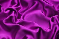 淡紫色丝绸 免版税图库摄影
