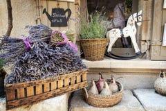 淡紫色待售在普罗旺斯法国 库存照片