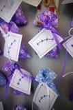 淡紫色纪念品 免版税图库摄影