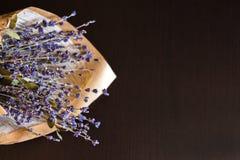淡紫色花束 免版税库存照片